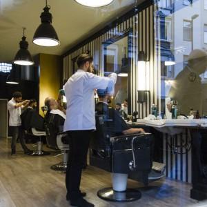 Herrenfriseur Barbier - Captain's Barbershop Düsseldorf