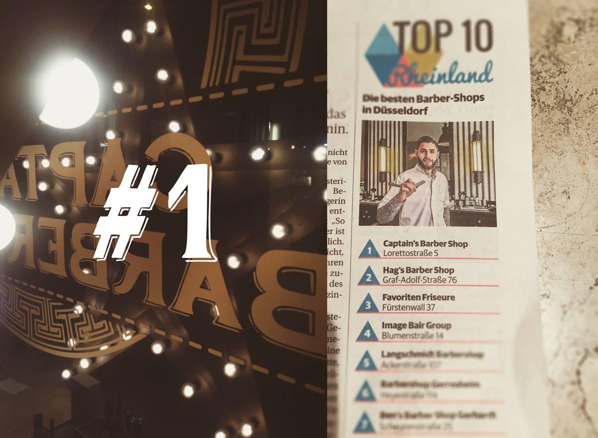 Captains Barber Shop TOP 10 Rheinland Nummer 1