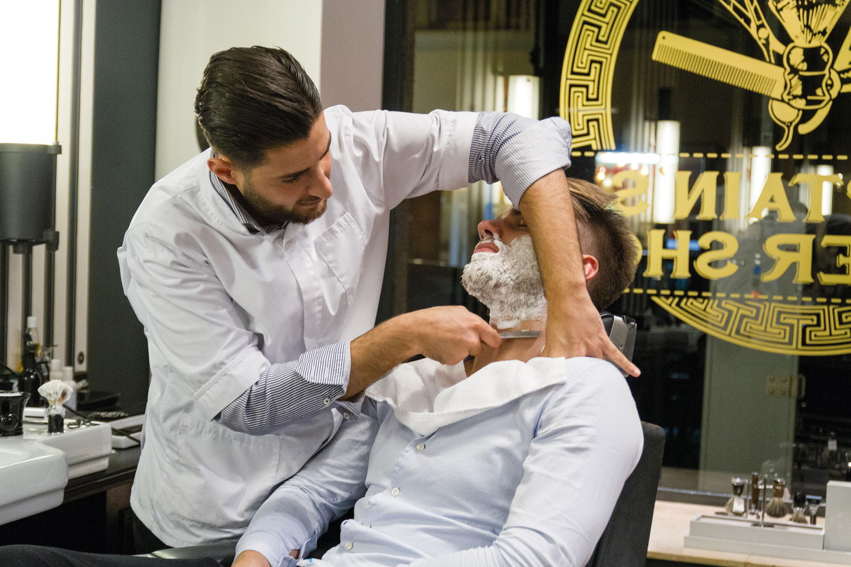 Nassrasur Düsseldorf Captain's Barber Shop