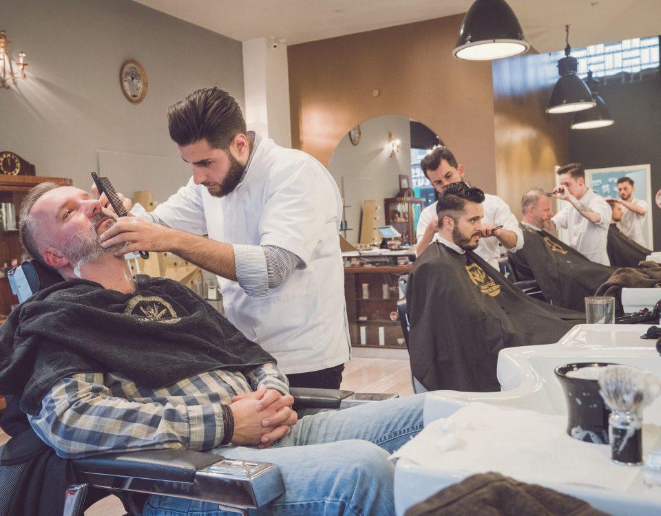 Bartpflege für Gentlemen - Captain's Barber Shop Düsseldorf