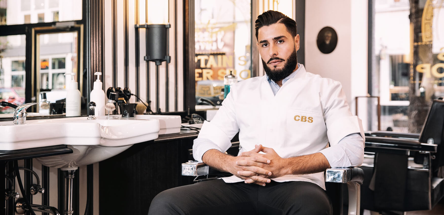 Ahmed Al Musawi Herrenfriseur Barber Captains Barber Shop Düsseldorf