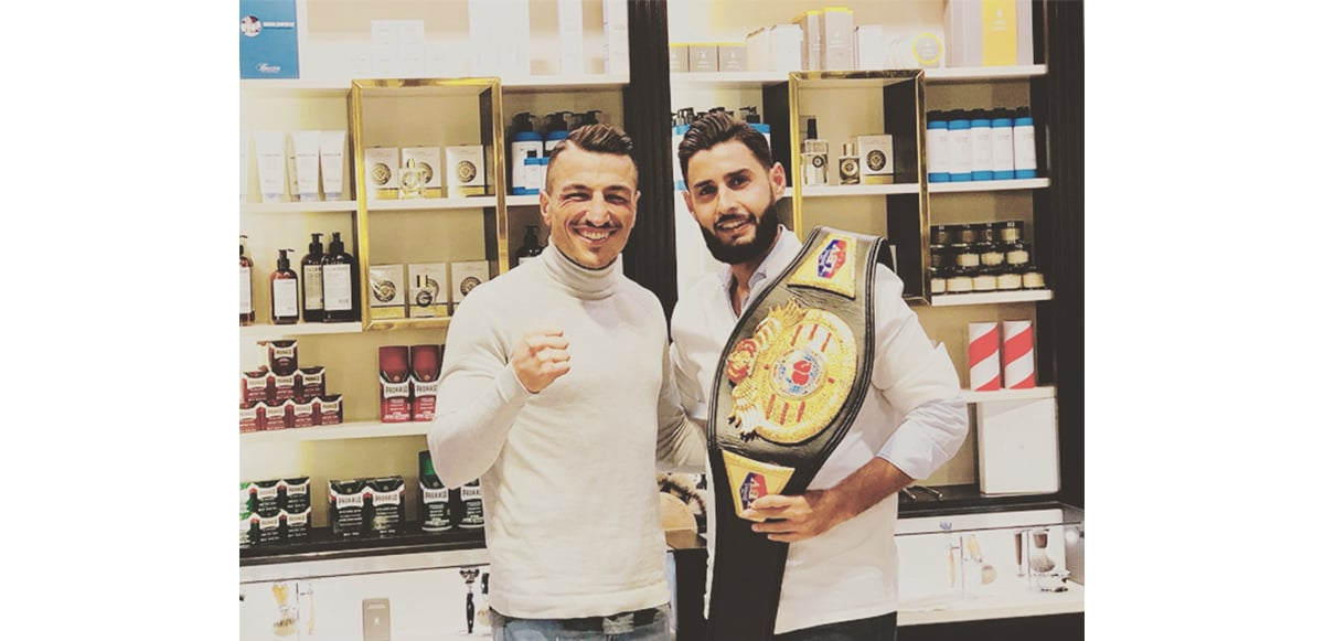 Ercan Tuncel Boxer Captains Barber Shop Herrenfriseur Düsseldorf