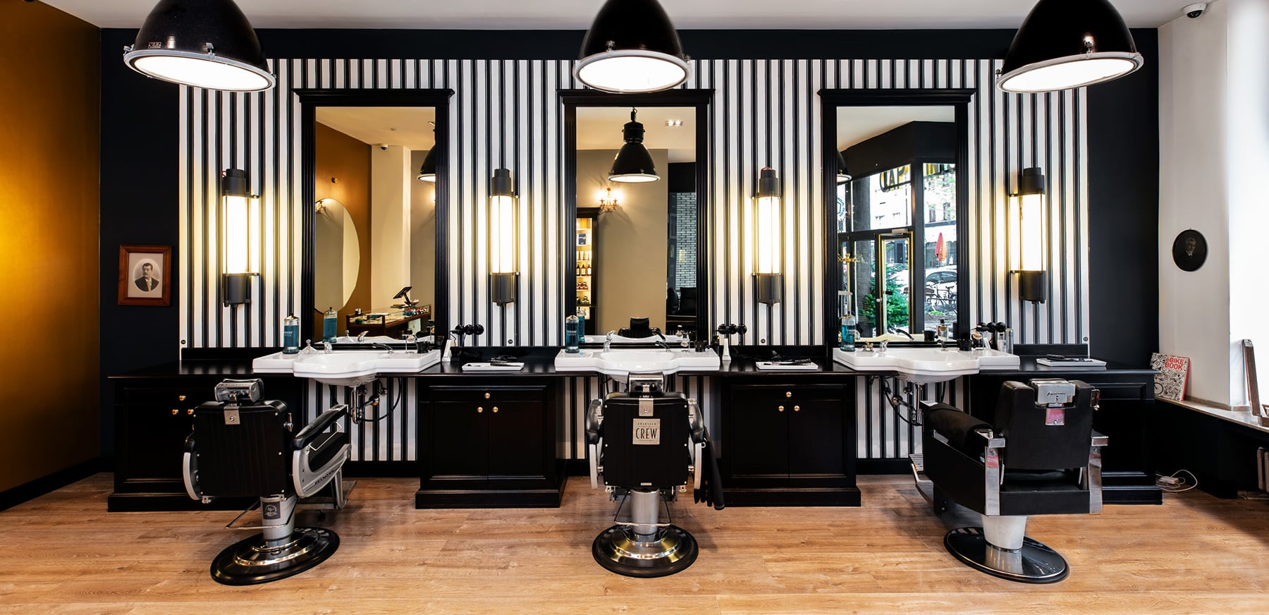 Herrenfriseur Barber Captains Barber Shop Düsseldorf