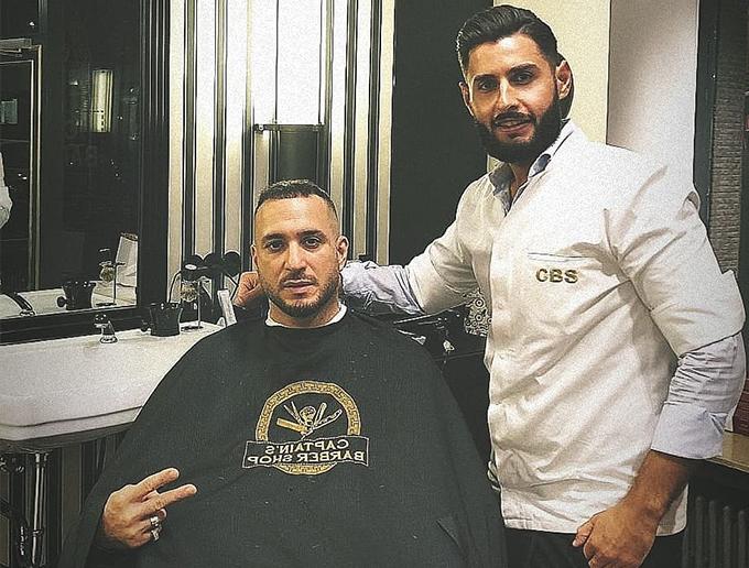 DJ Loco Dice im Captain's Barber Shop
